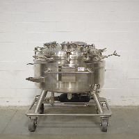 Precision Stainless 200 Liter Stainless Steel Vessel
