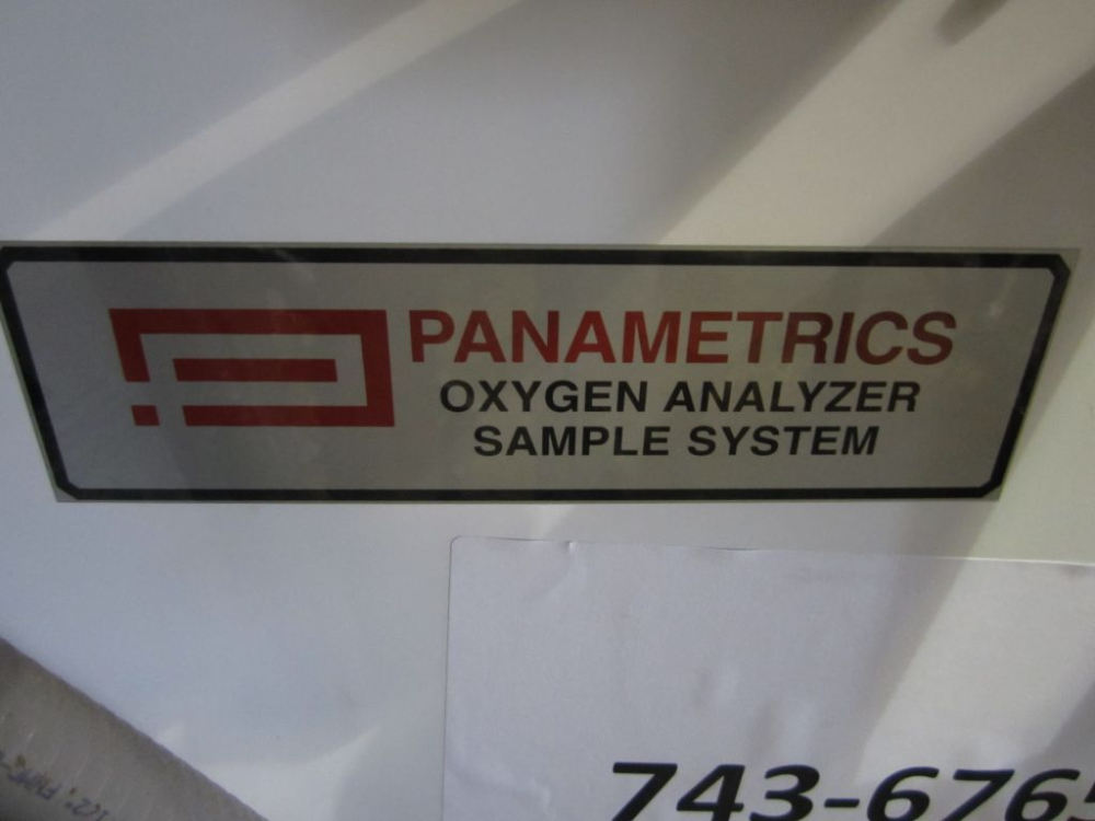 Panametrics Oxygen Analyzer Sample System