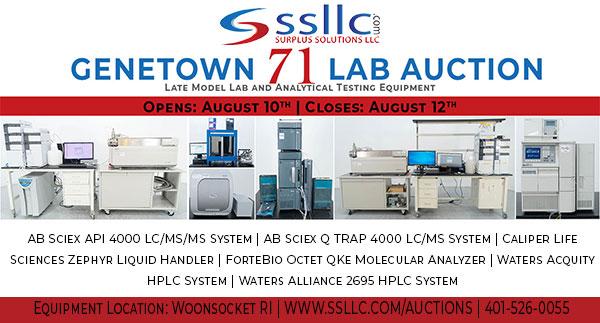 Genetown 71 Online Lab Auction