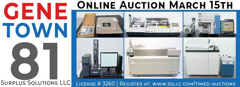 Genetown 81 Online Lab Auction