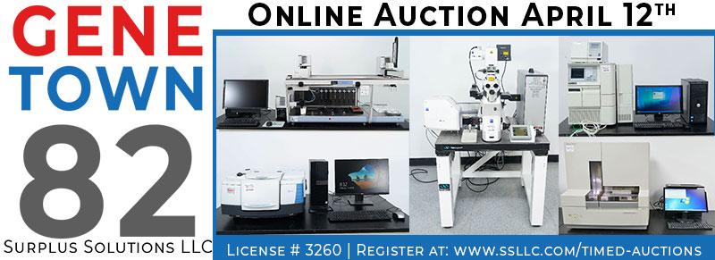 Genetown 82 Online Lab Auction