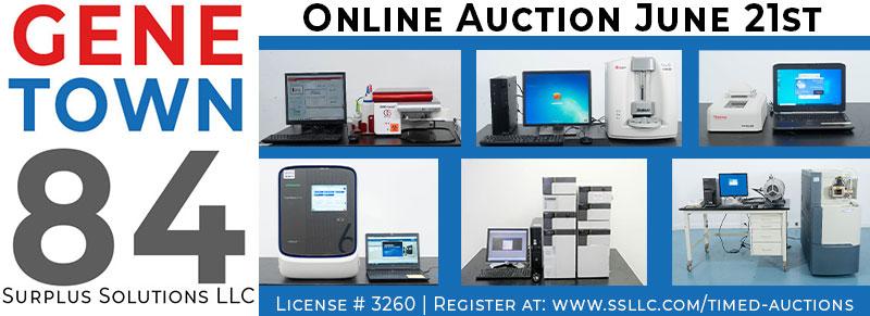 Genetown 84 Online Lab Auction
