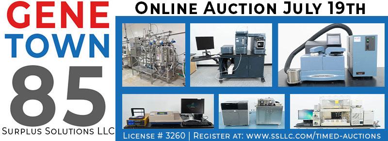 Genetown 85 Online Lab Auction