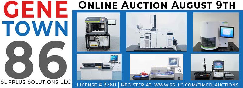 Genetown 86 Online Lab Auction