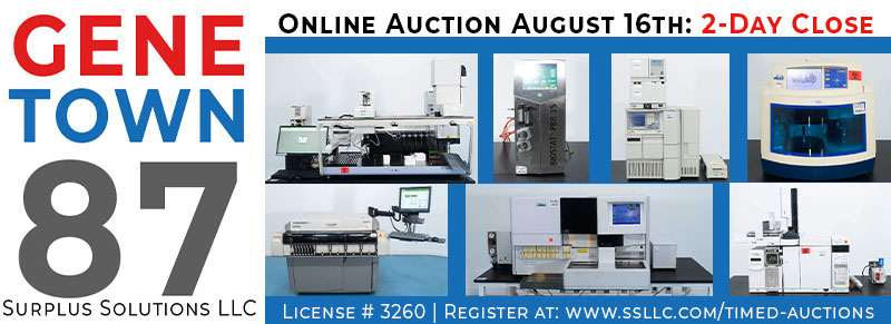 Genetown 87 Online Lab Auction