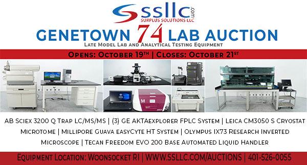 Genetown 74 Online Lab Auction