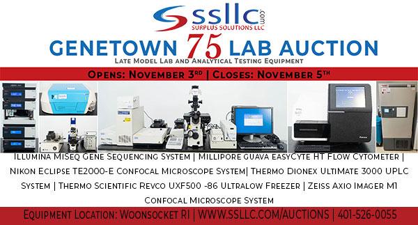 Genetown 75 Online Lab Auction