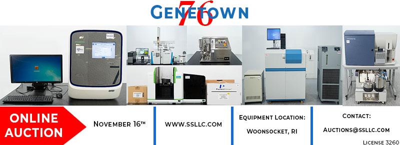 Genetown 76 Online Lab Auction