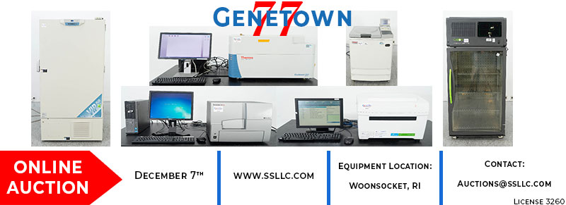 Genetown 77 Online Lab Auction