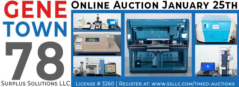 Genetown 78 Online Lab Auction