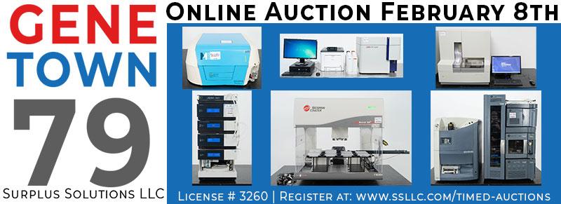 Genetown 79 Online Lab Auction