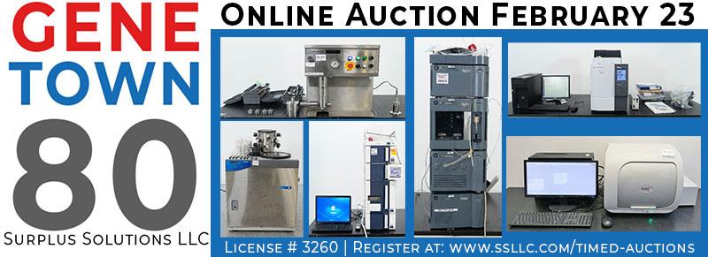 Genetown 80 Online Lab Auction