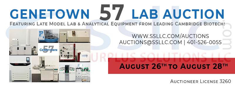 Genetown 57 Online Lab Auction