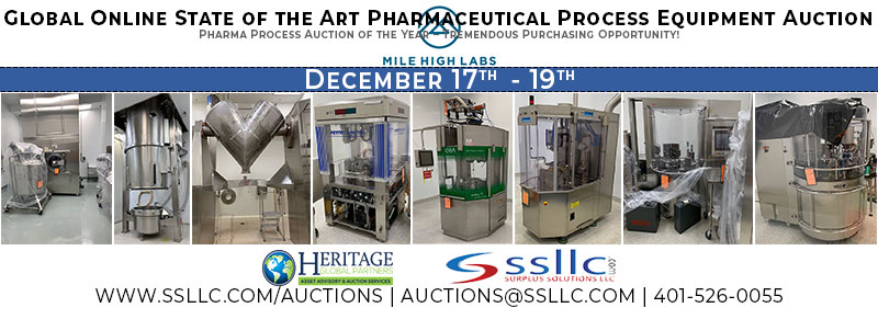 Mile High Labs Auction December 2019