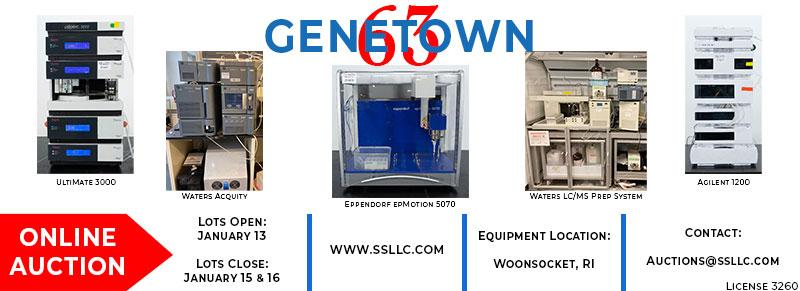 Genetown 63 Online Lab Auction