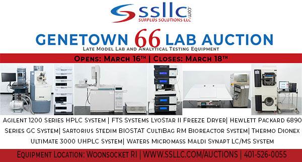 Genetown 66 Online Lab Auction