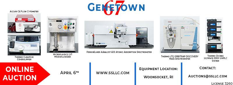 Genetown 67 Online Auction