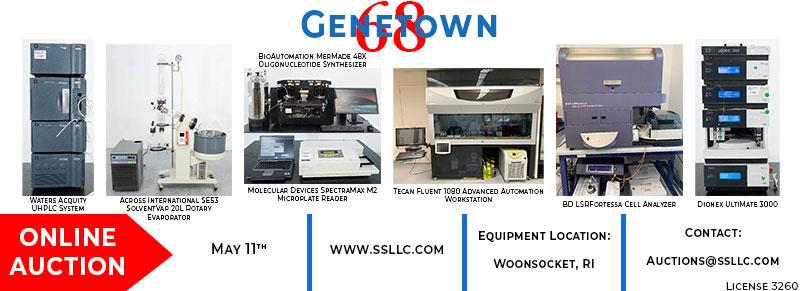 Genetown 68 Online Lab Auction