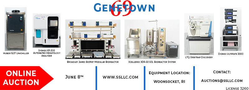 Genetown 69 Online Lab Auction