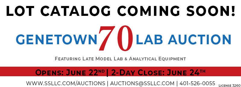 Genetown 70 Online Lab Auction