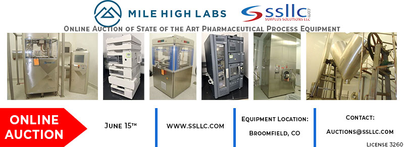 Mile High Lab Online Auction