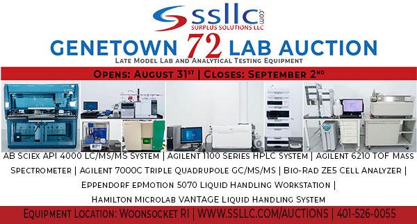 Genetown 72 Online Lab Auction