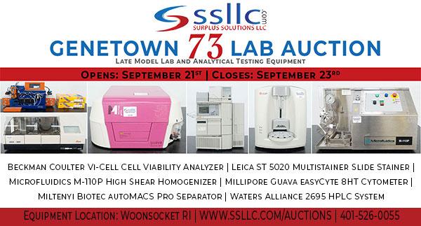 Genetown 73 Online Lab Auction