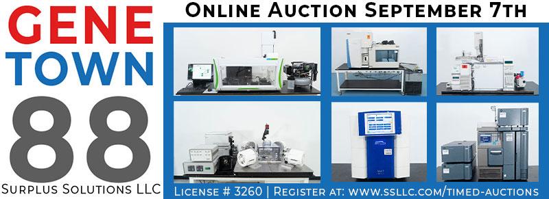 Genetown 88 Online Lab Auction