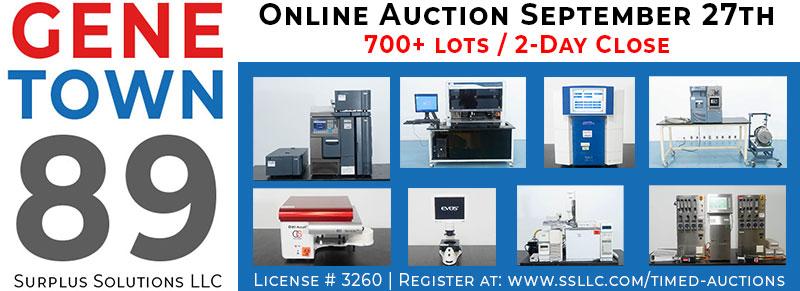 Genetown 89 Online Lab Auction