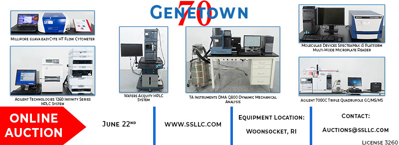 Genetown 70 Online Auction Event