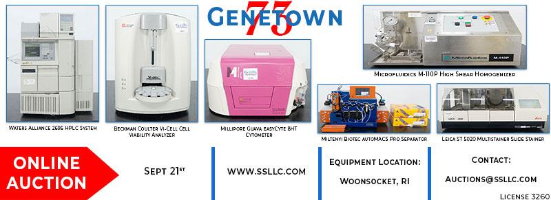 Genetown 73 Used Lab Equipment Auction
