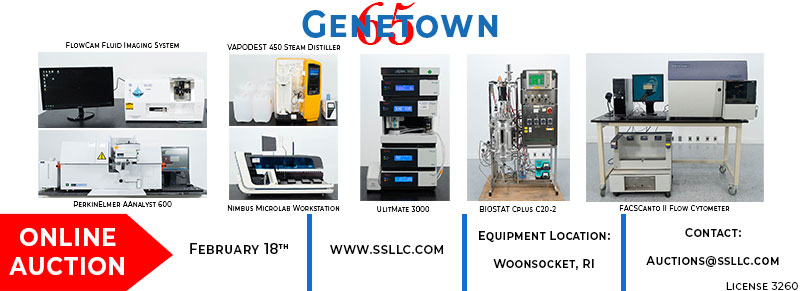 Used Lab Equipment Auction