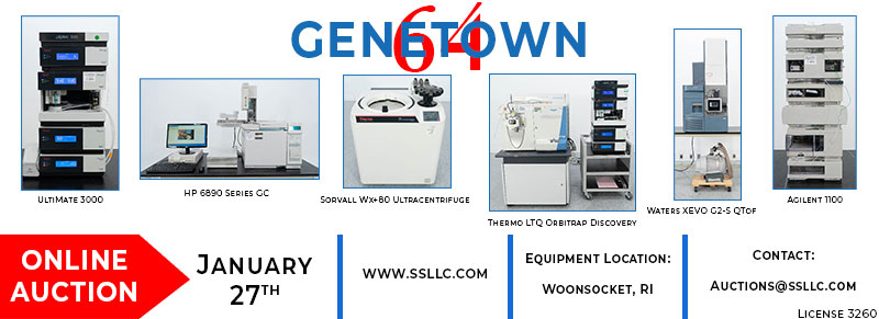 Genetown 64 - Online Laboratory Equipment Auction