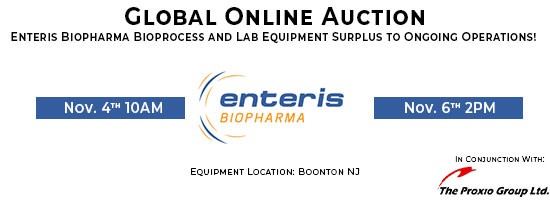 Bioprocess and Lab Equipment Online Auction