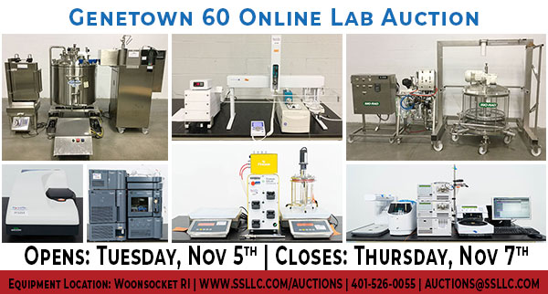 Late Model Lab and Analytical Equipment Online Event