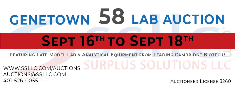Genetown 58 Online Lab Auction