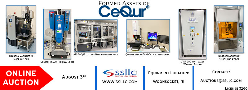Former Assets of CeQur Online Auction