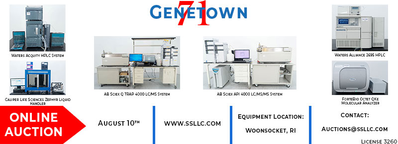 Genetown 71 Online Lab Auction Event
