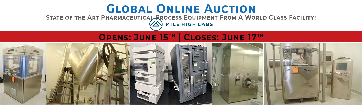 Mile High Labs Online Auction