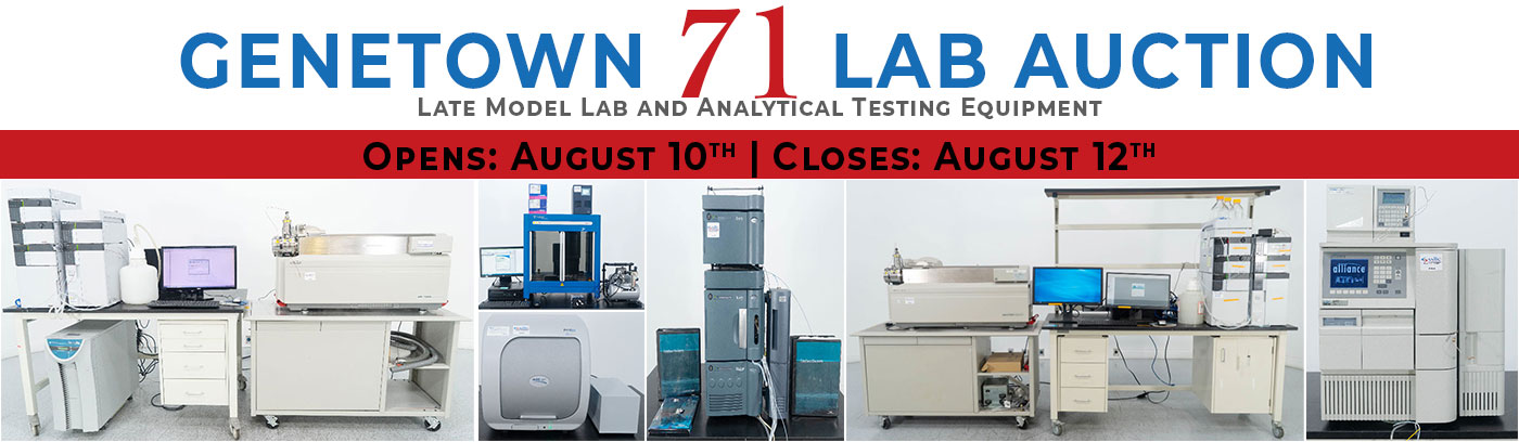 Genetown 71 Online Lab Auction