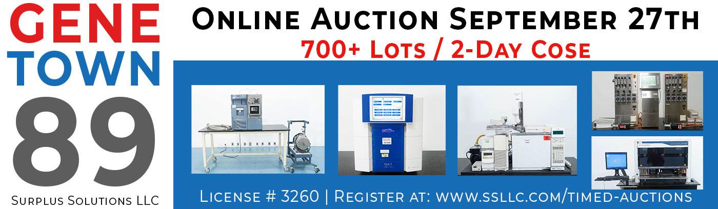 Genetown 89 Lab Auction