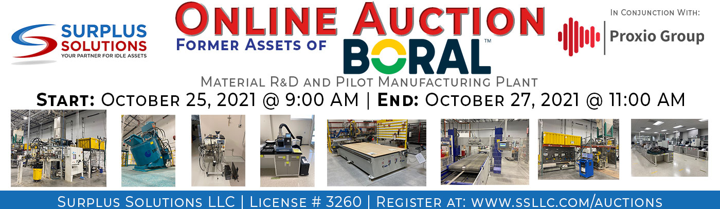 Boral Online Auction