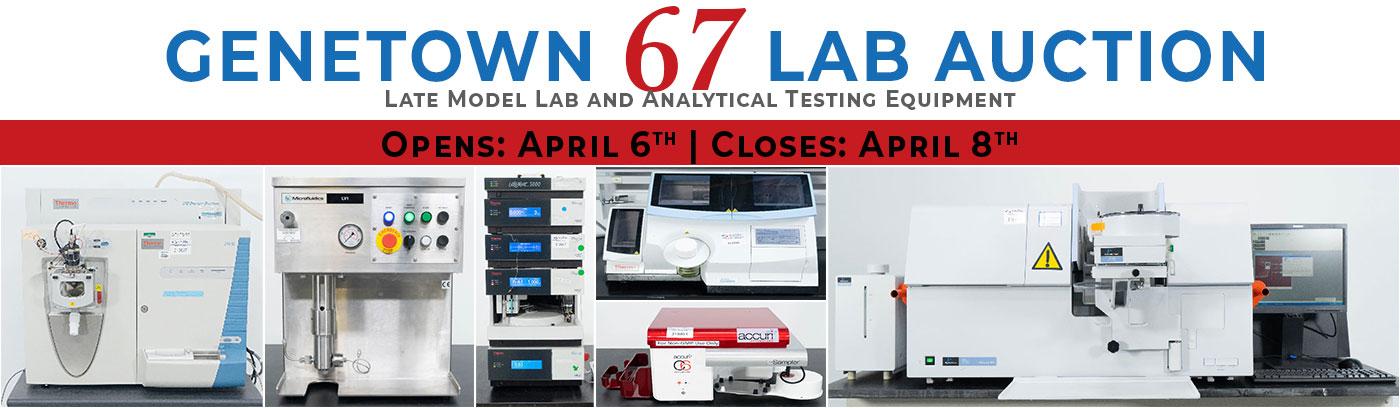 Genetown 67 Online Lab Auction
