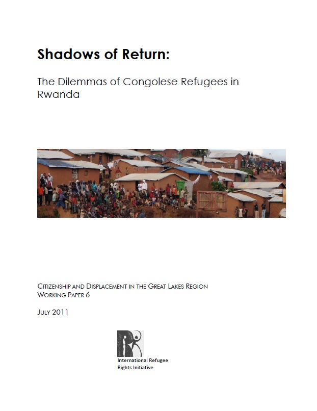 Shadows of Return: The dilemma of Congolese Refugees in Rwanda