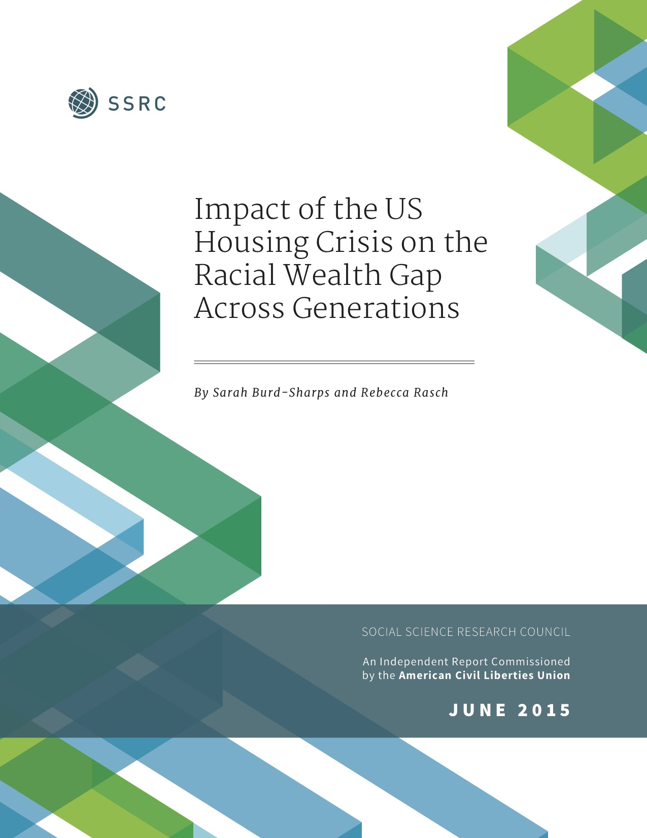 Impact of the US Housing Crisis on the Racial Wealth Gap Across Generations