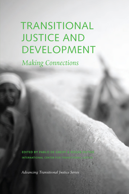 Phd thesis transitional justice