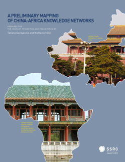 A Preliminary Mapping of China-Africa Knowledge Networks