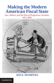 Making the Modern American Fiscal State: Law, Politics, and the Rise of Progressive Taxation, 1877–1929