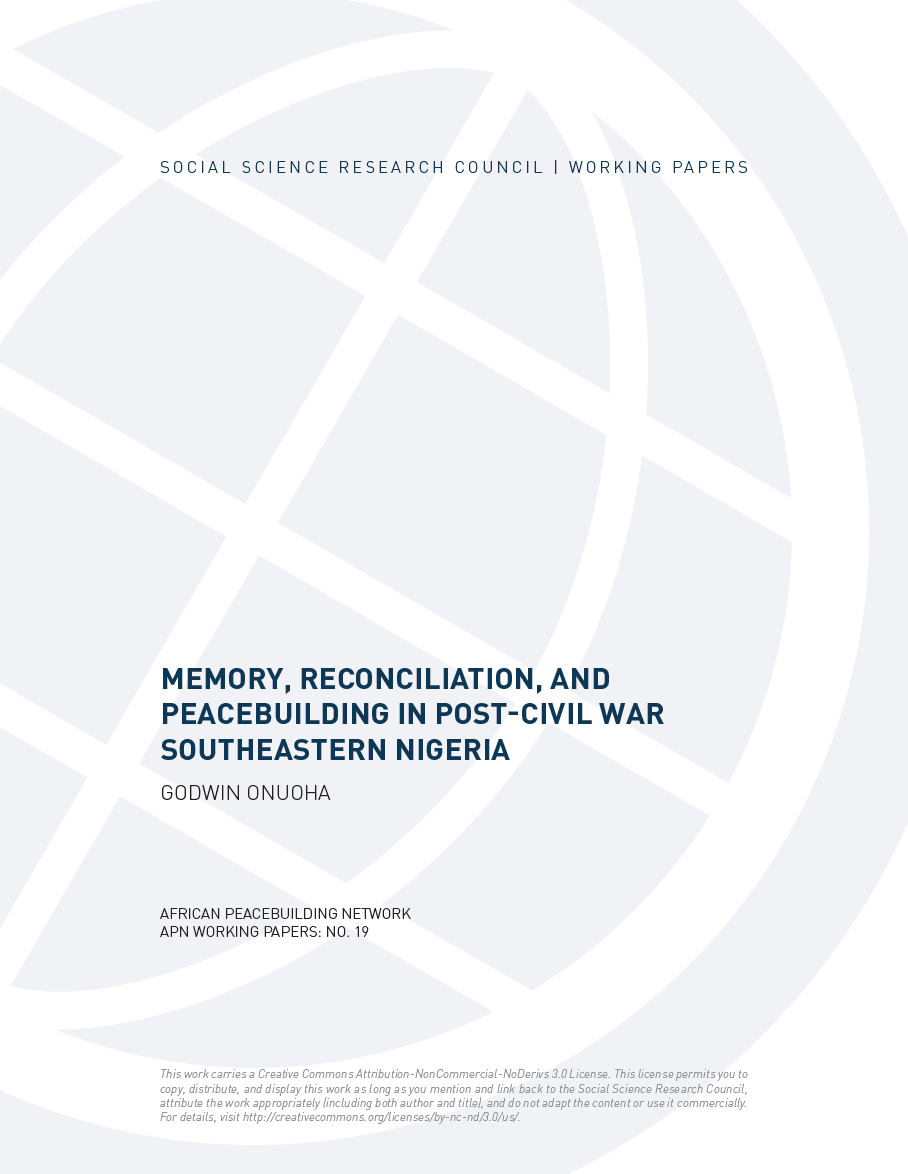 research papers on memory