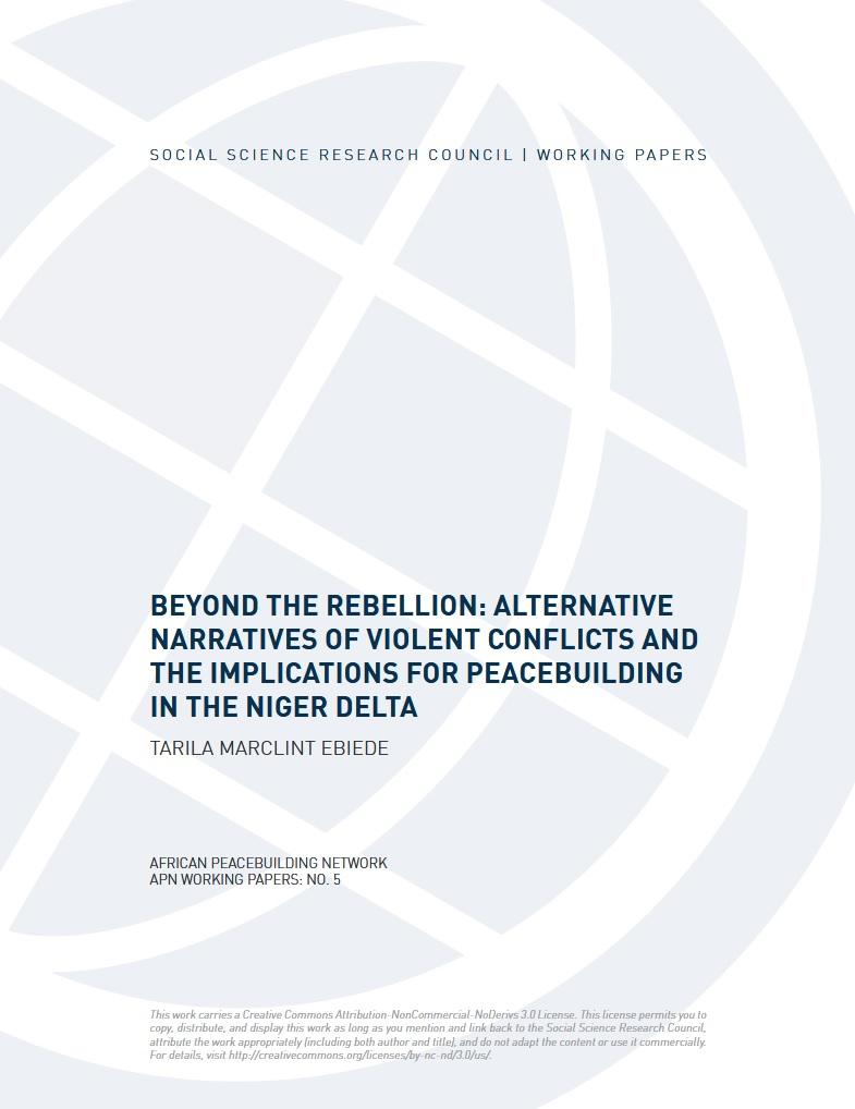Beyond the Rebellion: Alternative Narratives of Violent